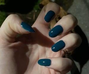 glitter nails, design, and fashion image