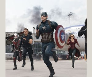 captain america, steve rogers, and scott lang image