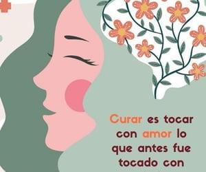 amor, curar, and miedo image