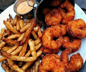 fries, foodi, and love eating image