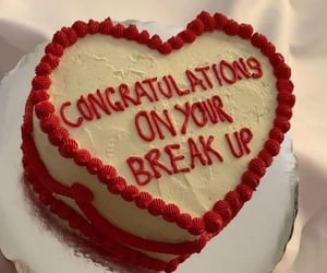 breakup, Relationship, and words image