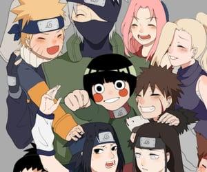 sasuke uchiha, kakashi hatake, and kiba inuzuka image