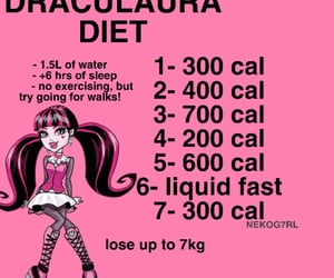 diet, ed, and thinspo image