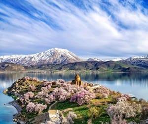 türki̇ye van lake image