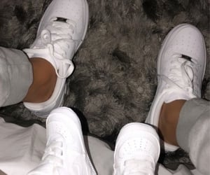 baby feet, sneakers, and nike image