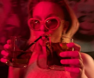 party, zara larsson, and drinks image