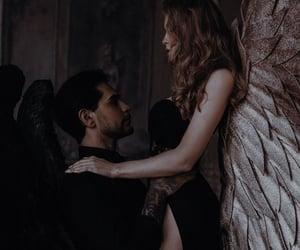 black, couple, and romantic image