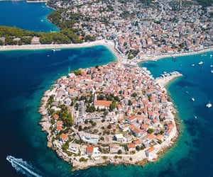 aerial photography, aerial view, and Croatia image
