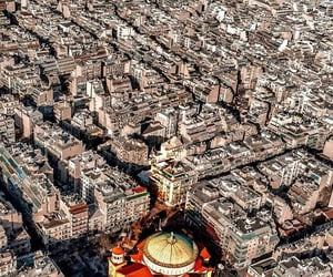 aerial photography, aerial view, and architecture image