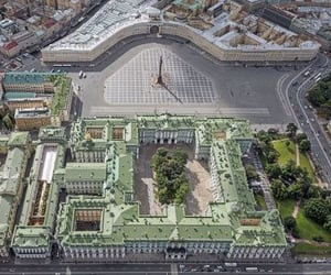 palace, drone photography, and aerial photography image