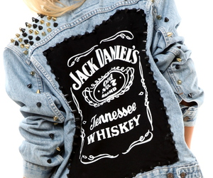 fashion, jack daniels, and jacket image