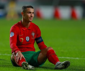 cristiano ronaldo, portugal, and red image