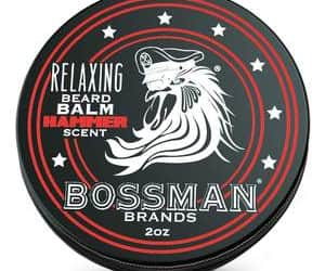 men's grooming products and beard balm image
