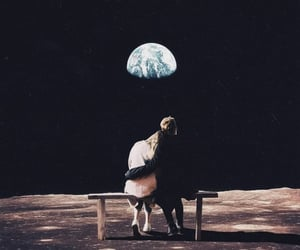 amour, escape, and lune image