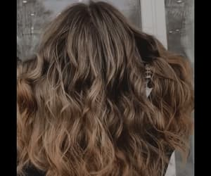 beauty, gif, and hair image