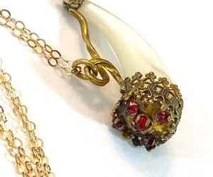 etsy, antique jewelry, and antique necklace image