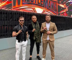 tyler bate, pete dunne, and trent seven image