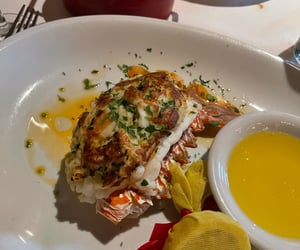 crab, fine dining, and food image
