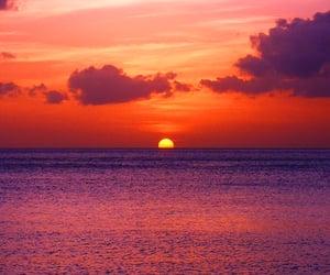 paradise, beaches, and sunrise image