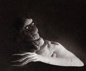 creepy, dark, and death image