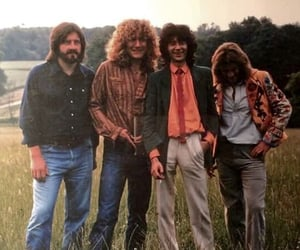 70s, jimmy page, and john paul jones image
