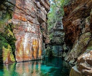 beautiful, paradise, and waterfall image