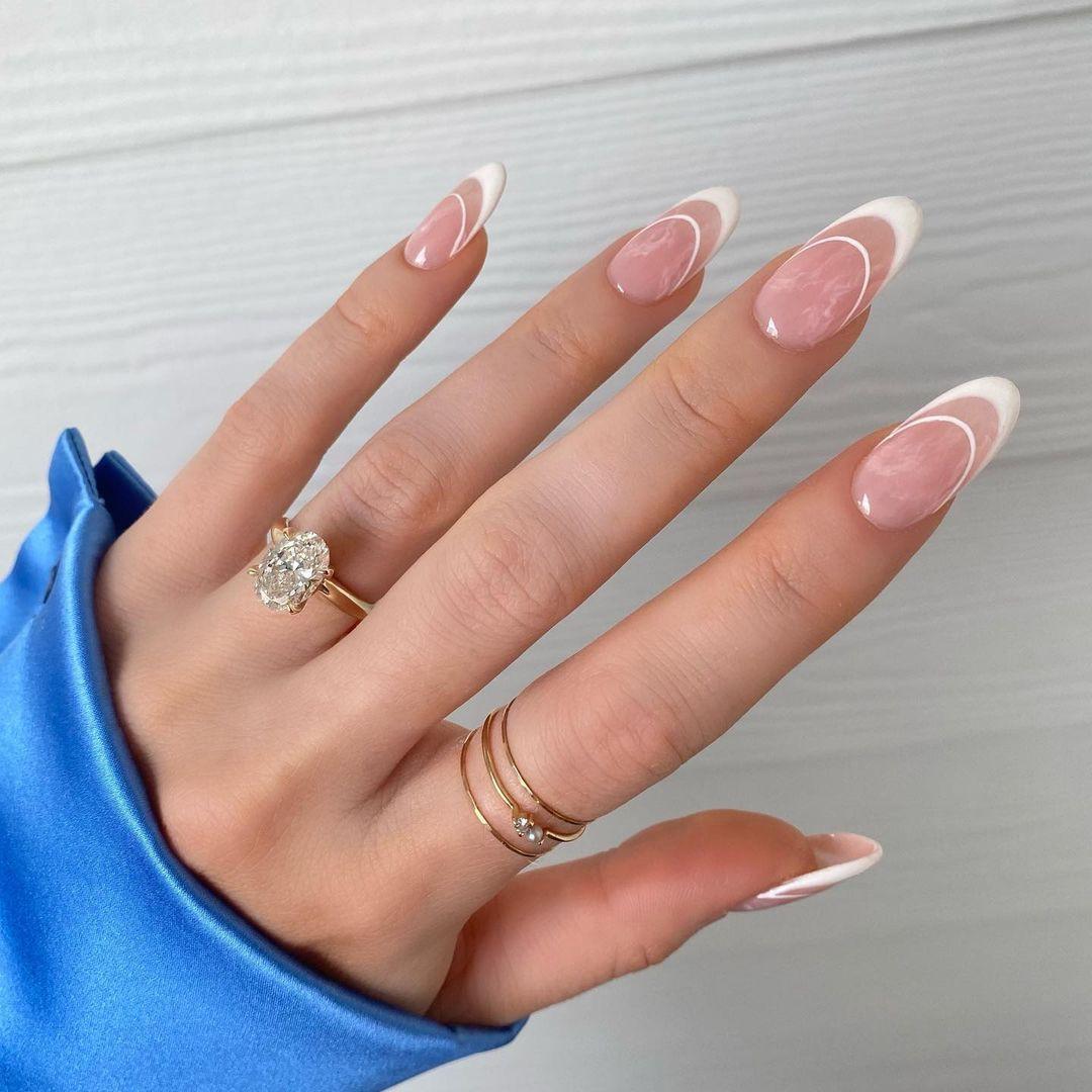 aesthetic, minimalist, and nails image