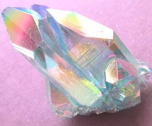 crystal, pink, and grunge image