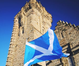 scotland, stirling, and wallace monument image