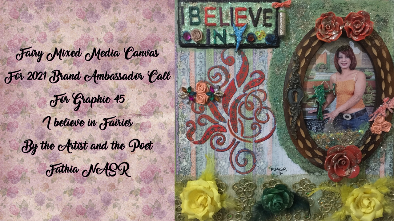 Fairies, mixed media, and article image