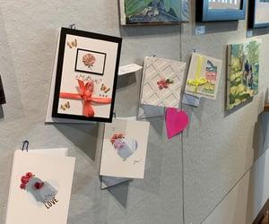 art, handmade cards, and art gallery image