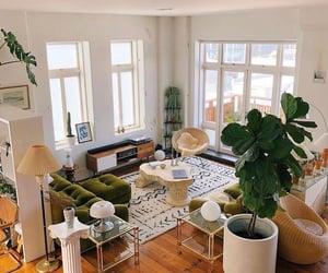 boho, interior, and living room image