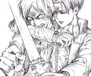 anime, aot, and manga image