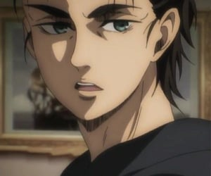 anime, aot, and eren jaeger image