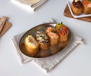 food, minimal, and sushi image