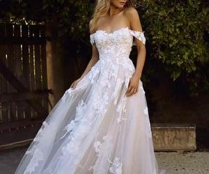 wedding dress, photography, and photos image