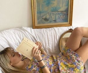fashion, aesthetic, and book image