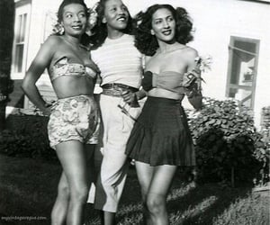 1940s, vintage, and fashion image