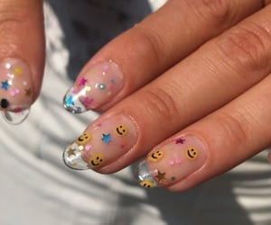 nails, aesthetic, and fashion image