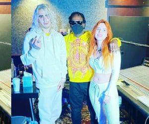 new, bella thorne, and rapper image