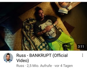 music, russ, and bankrupt image