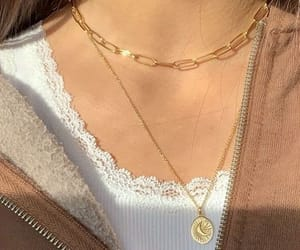 accessory, chain, and comfortable image