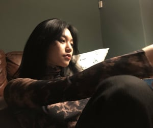 aesthetic, dark, and korea image
