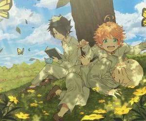 anime, ray, and yakusoku no neverland image