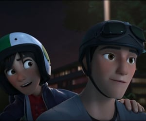 brothers, disney, and hiro image