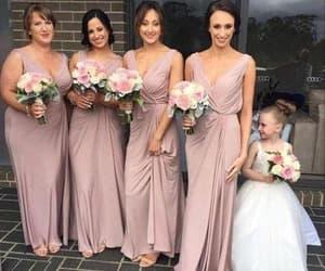 long bridesmaid dresses, bridesmaid dresses, and wedding party dresses image