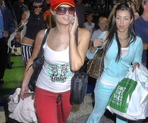 kim kardashian and paris hilton image