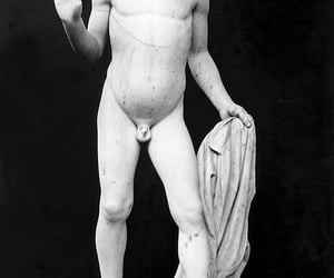 art, boy, and marble image