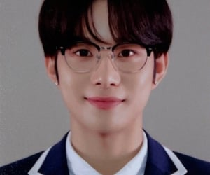 student, jungwoo, and close up image