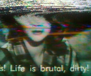 brutal, glitch, and vhs image